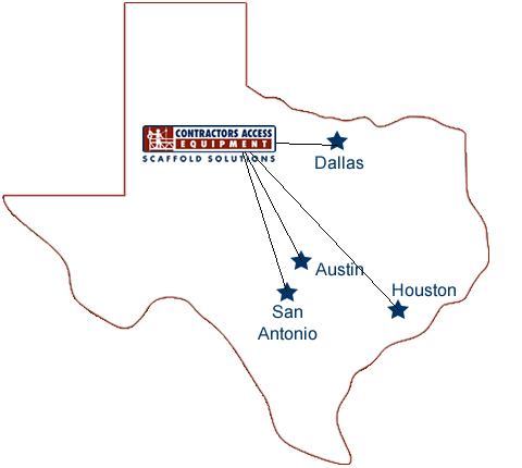 Texas Scaffolding Austin Suspended Scaffolding Dallas
